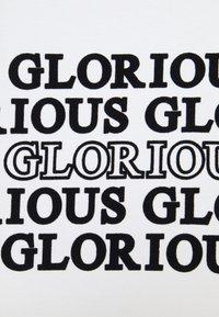 Glorious Gangsta - ESTEN TEE - T-shirt imprimé - optic white - 5