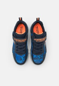 Skechers - FLEX GLOW - Trainers - navy/blue/orange - 3