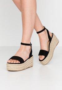 Koi Footwear - VEGAN  - Espadrilky - black - 0