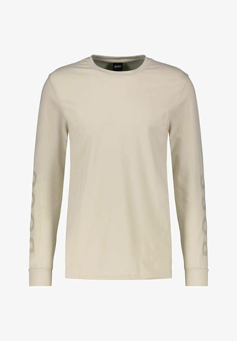 BOSS - Maglietta a manica lunga - offwhite