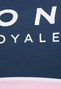Mons Royale - STELLA X BACK BRA - Light support sports bra - dark denim/powder pink - 2