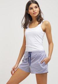 Schiesser - MIX & RELAX - Bas de pyjama - dunkelblau - 1