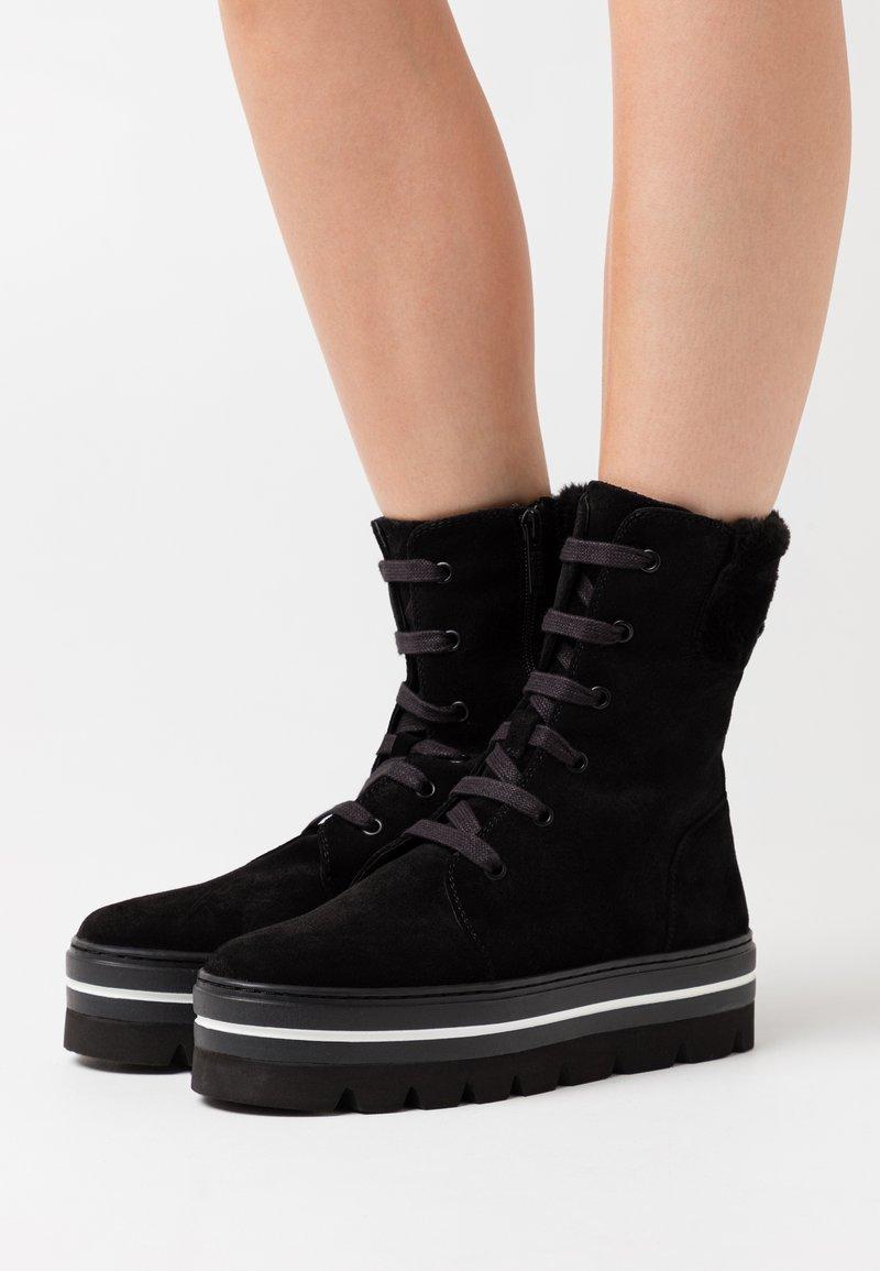 Steffen Schraut - HILL STREET - Winter boots - black