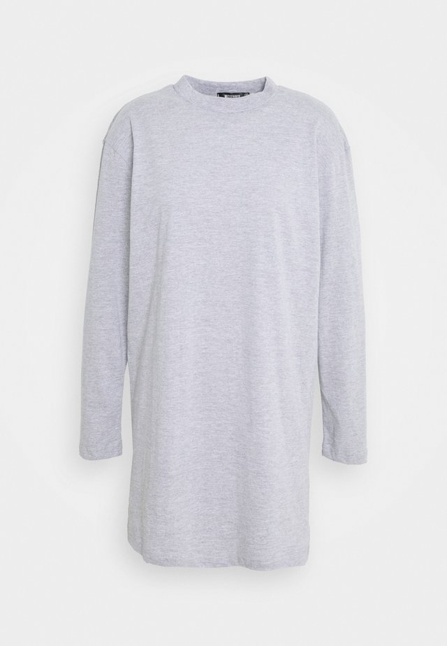 BASIC DRESS  - Žerzejové šaty - grey marl