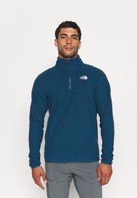 The North Face - GLACIER 1/4 ZIP  - Fleece jumper - monterey blue - 0