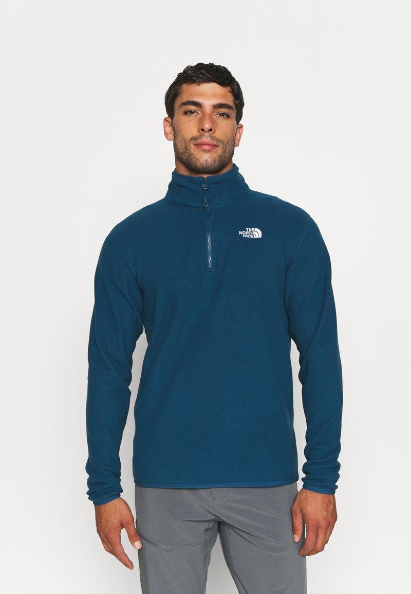 The North Face - GLACIER 1/4 ZIP  - Fleece jumper - monterey blue