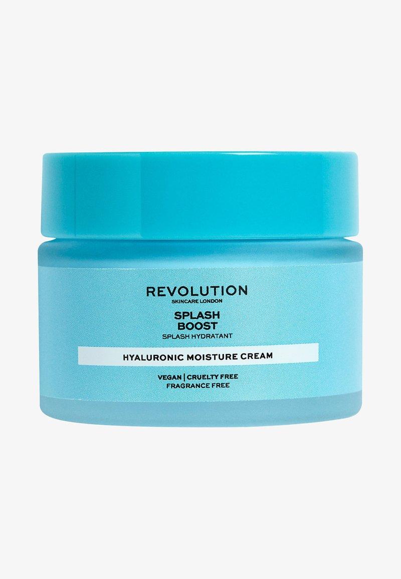 Revolution Skincare - SPLASH BOOST CREAM WITH HYALURONIC ACID - Face cream - -
