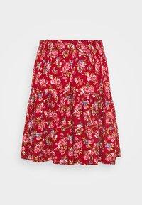 Vila - VICARE SHORT SKIRT - Mini skirt - burnt henna - 1