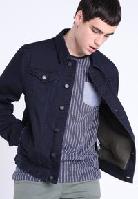 BONOBO Jeans - MIT TASCHEN - Giacca di jeans - denim stone - 3