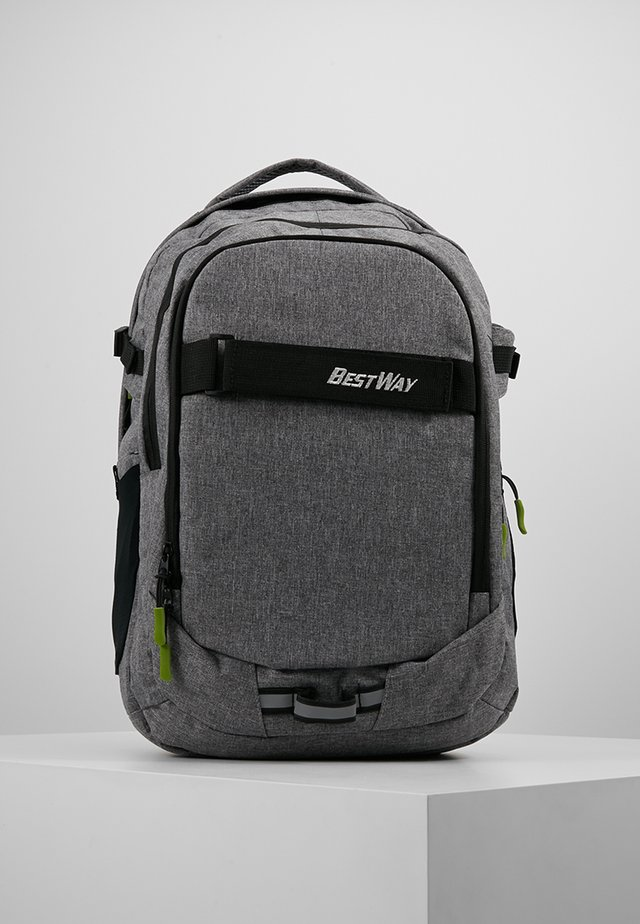 BEST WAY EVOLUTION - School bag - dunkelgrau
