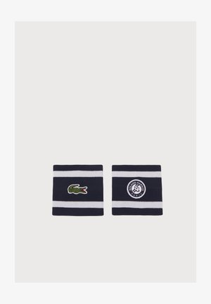 WRISTBAND UNISEX - Sweatband - navy blue/white