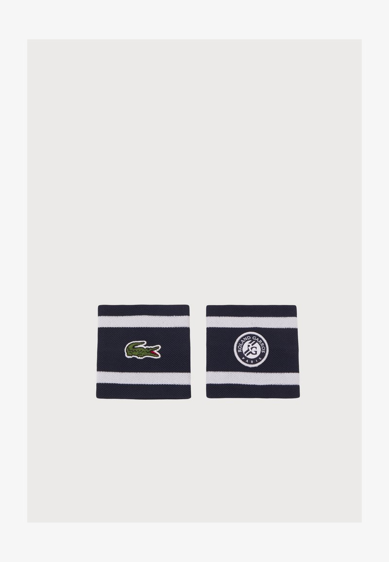 Lacoste Sport - WRISTBAND UNISEX - Sweatband - navy blue/white