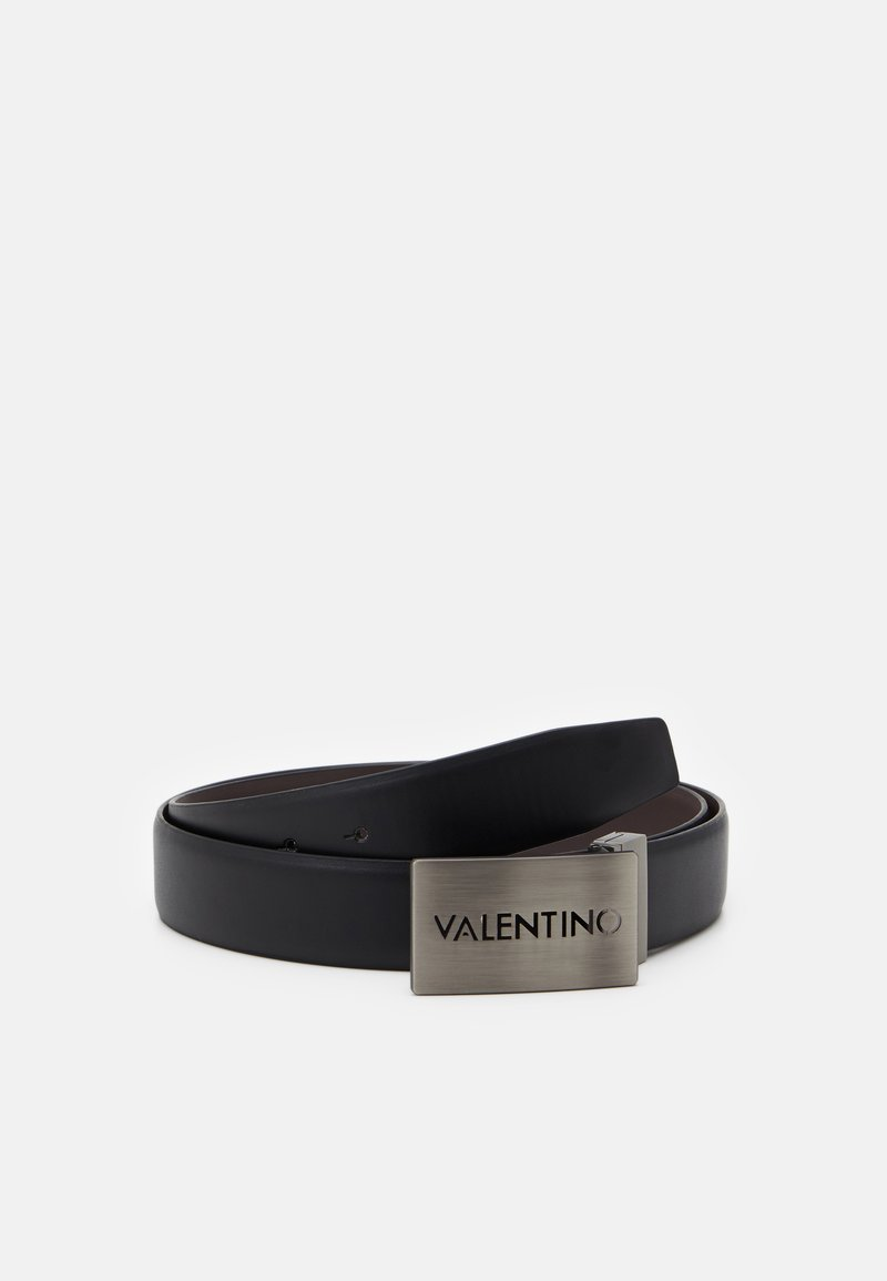 Valentino by Mario Valentino - DUSS REVERSIBLE PLAQUE BELT - Belt - black