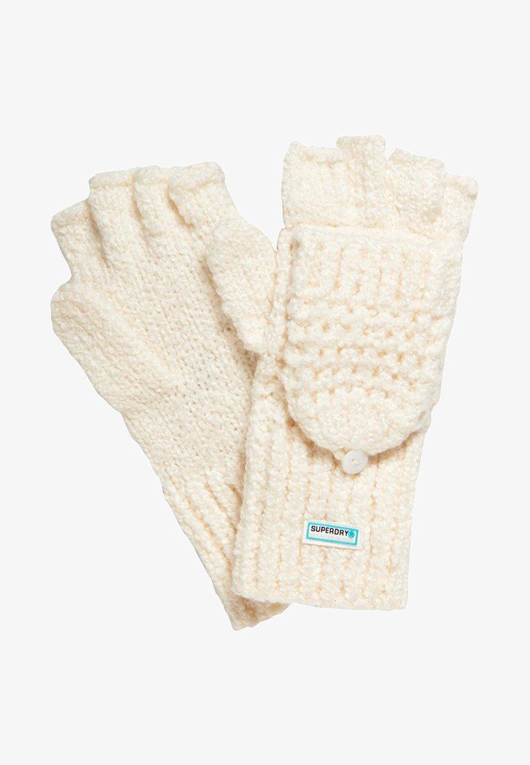 Superdry - CLARRIE - Fingerless gloves - offwhite