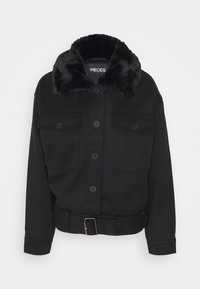 PCRINE JACKET - Winter jacket - black