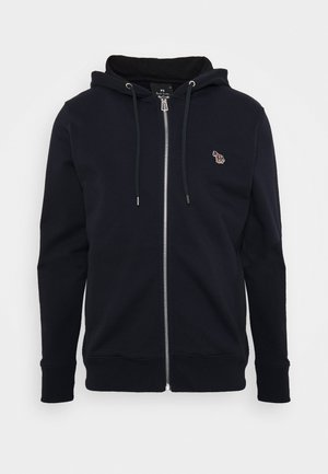 MENS ZIP HOODY - Felpa aperta - dark blue