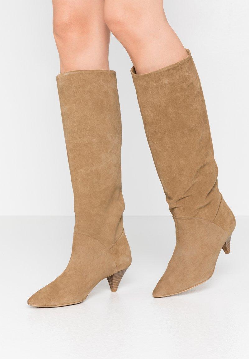 L37 - OPEN MIND HIGH - Boots - beige