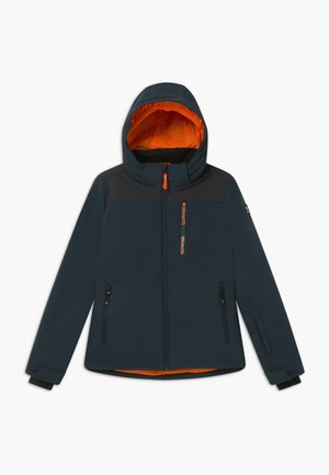 BOYS  - Soft shell jacket - space blue