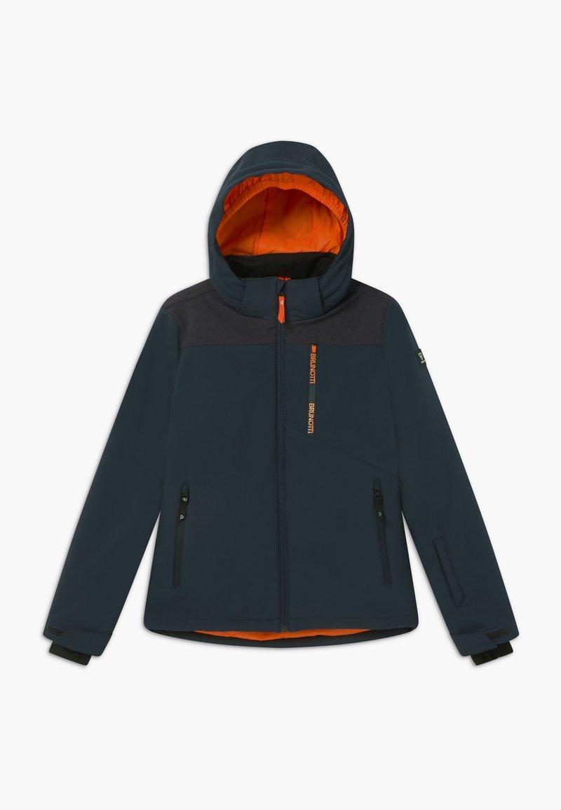 Brunotti - BOYS  - Soft shell jacket - space blue