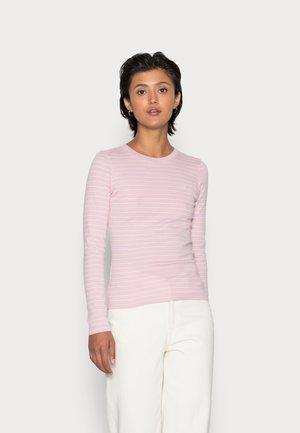 BABY TEE - Ilgarankovis viršutinės dalies drabužis - light pink