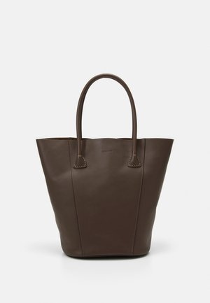 GIA BUCKET TOTE - Tote bag - mocha