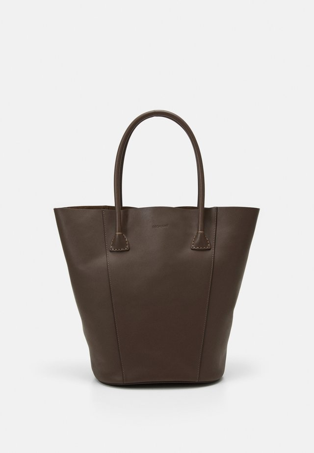 GIA BUCKET TOTE - Shopping bag - mocha