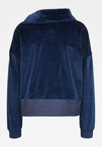 G-Star - RAW DOT COLLAR ZIP - Fleece jacket - kobalt htr - 1