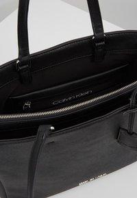 Calvin Klein - TASK - Tote bag - black - 4