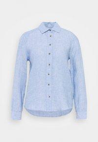 Marks & Spencer London - SAFARI - Button-down blouse - light blue - 0