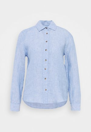 SAFARI - Button-down blouse - light blue