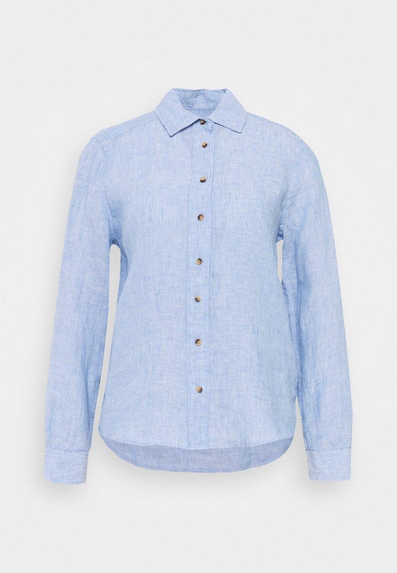 Marks & Spencer London - SAFARI - Button-down blouse - light blue