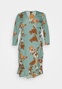 VMHENNA WRAP DRESS - Day dress - laurel wreath