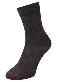 DIM - MIX & MATCH 3 PACK - Ponožky - anthracite canard - 1