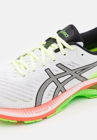 ASICS - GEL-KAYANO 27 SUMMER LITE SHOW - Stabilty running shoes - white/pure silver - 5