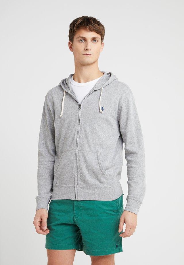 TERRY - Zip-up hoodie - andover heather