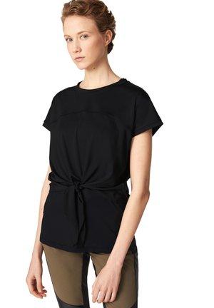 OLGA - T-shirt imprimé - schwarz