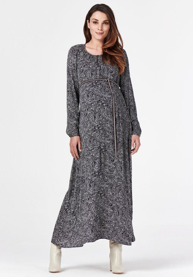 Korte jurk - blue graphite