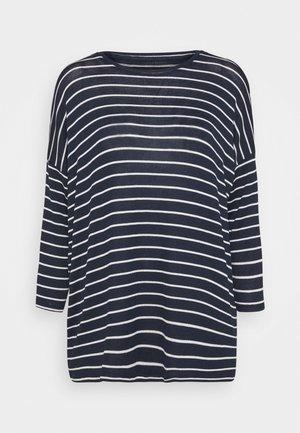 VMBRIANNA - Jumper - navy blazer/with snow white stripes