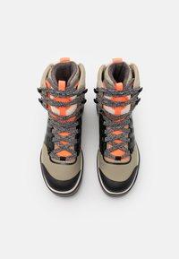 adidas by Stella McCartney - EULAMPIS - Vinterstøvler - tech beige/core black/solar orange - 3