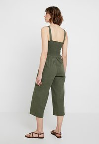 Hollister Co. - BUTTON FRONT - Overal - olive - 3