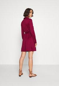 Even&Odd - Košilové šaty - dark red - 2