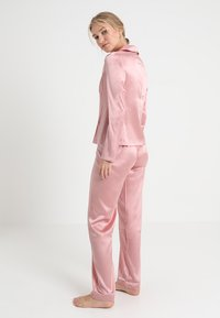 La Perla - LONG PAJAMAS SHORT VERSION SET - Pyjama set - pink powder - 2