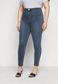 Glamorous Curve - LADIES - Jeans Skinny Fit - mid stonewash - 0