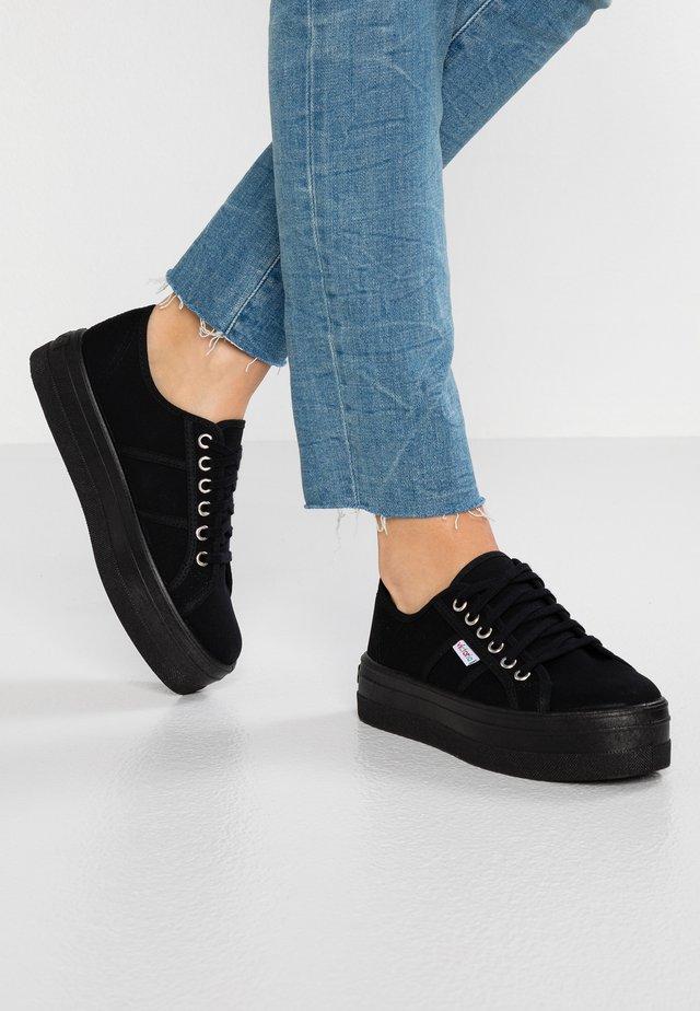 BARCELONA LONA MONOCROMO - Sneakers laag - black