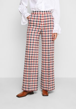 PYJAMA TROUSER - Trousers - cream/sunset/midnight