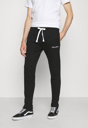 CUFF PANTS - Träningsbyxor - black