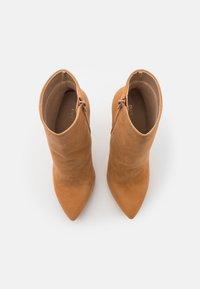 Even&Odd - LEATHER - Kotníková obuv na vysokém podpatku - beige - 5