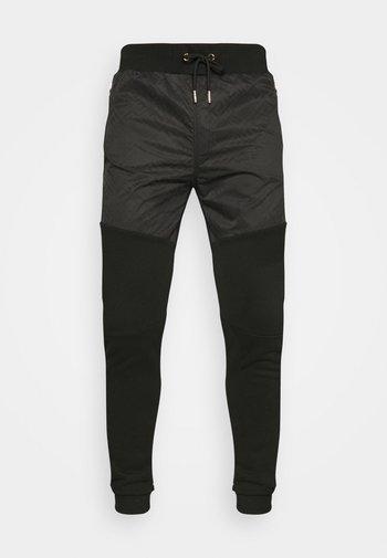 ABELLO JOGGER - Tracksuit bottoms - jet black