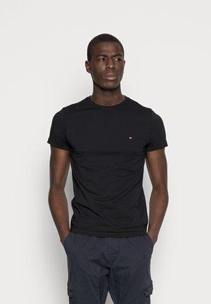 NEW STRETCH TEE C-NECK - Camiseta básica - flag black