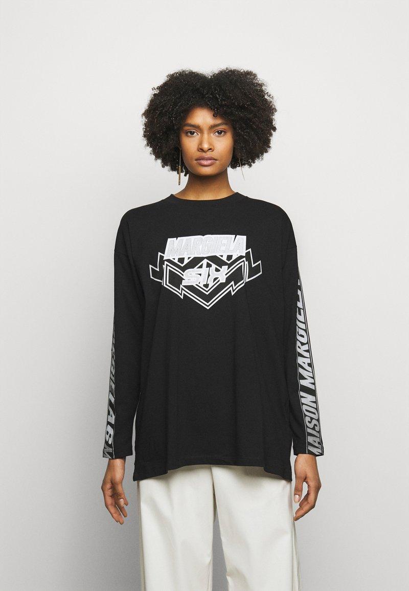 MM6 Maison Margiela - Long sleeved top - black